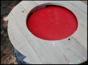 Mesa reciclar palet