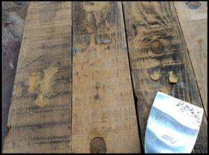 Aplicar masilla para madera