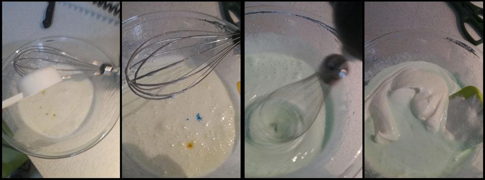 Mezcla nata y claras