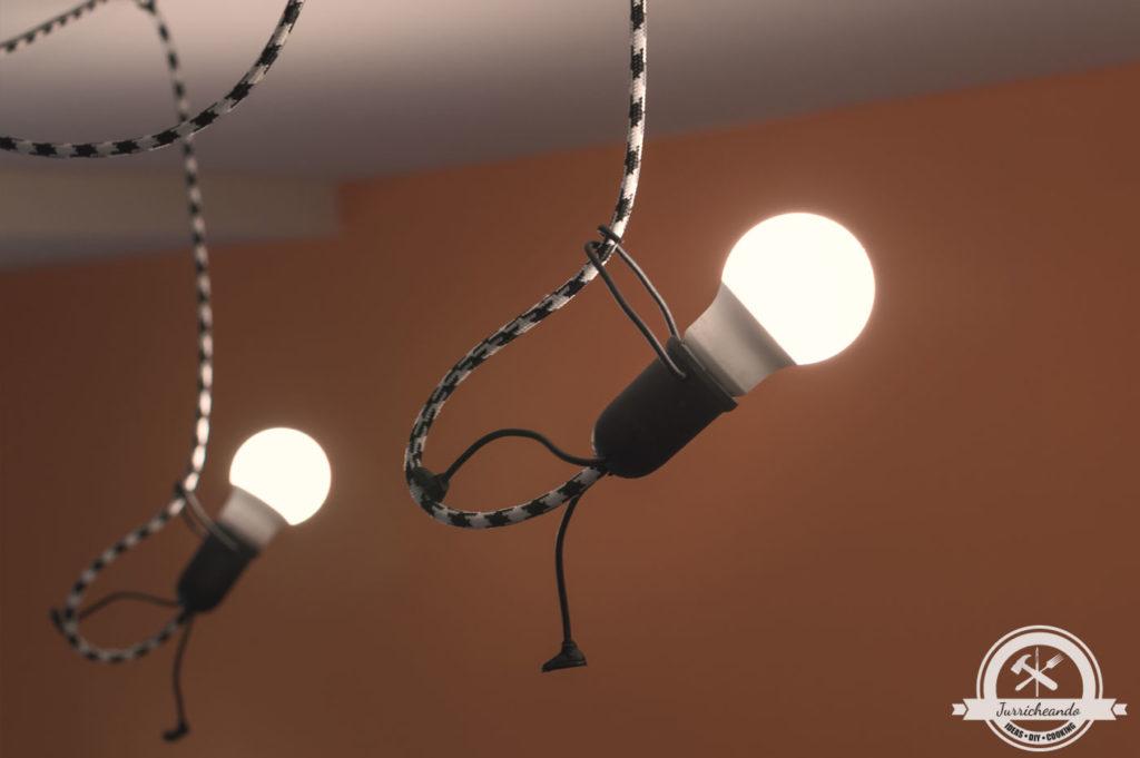 Lámpara Escaladores Iluminados